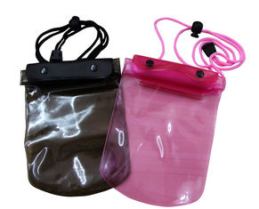 China 50C Transparent Waterproof cell phone bag adjust rope for swimming supplier