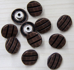 China Eco freindly Custom Clothing Buttons / Hardware Diamond Decoration supplier
