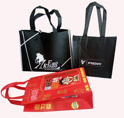 China 100% Recyclable Non Woven Carry Bags Customerized Color Promotional For Shopping supplier
