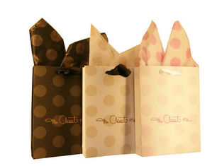 China Customized Printed 200g Recycle Paper Shopping Bag For Gift Packaging supplier