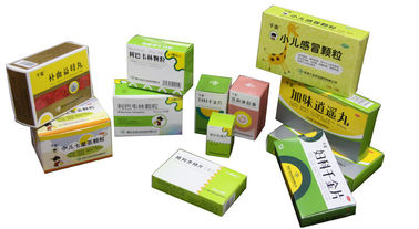 China Colorful Printing medicine pill boxes / child proof medicine box factory