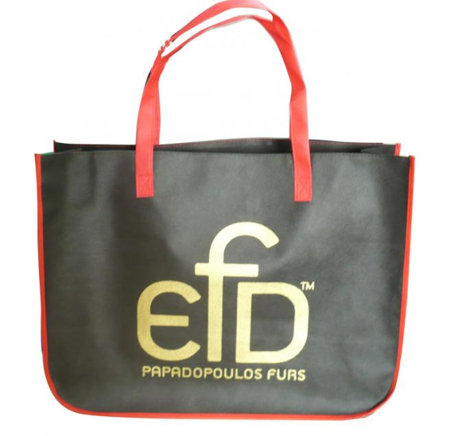 EFD 75g normal or coated non woven fabric with zipper non woven carry bag