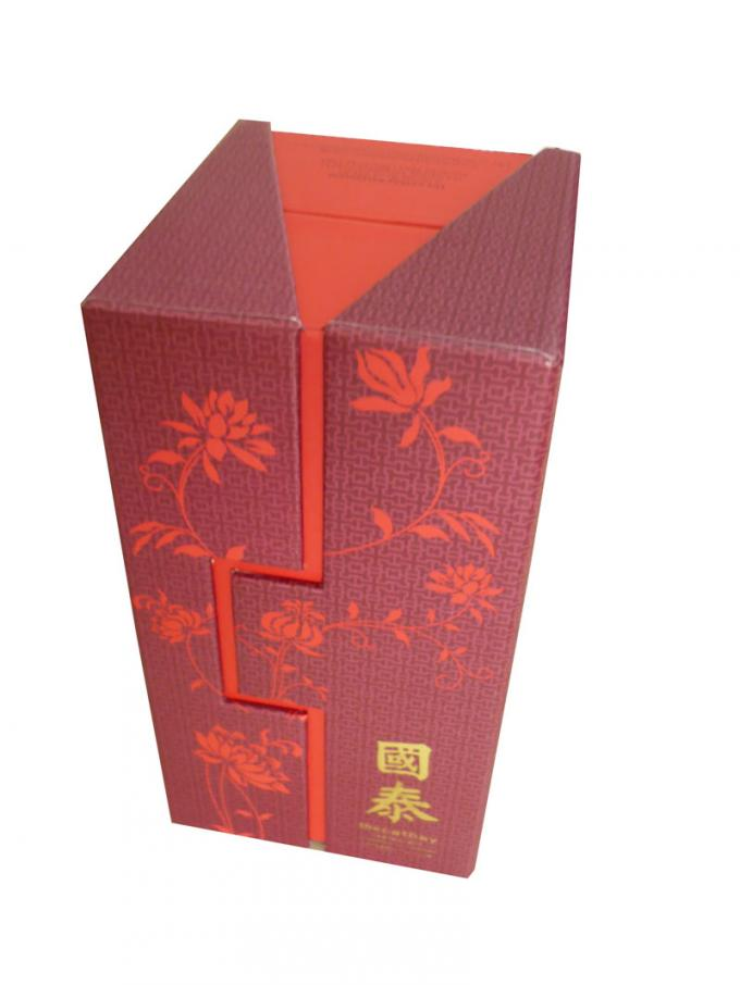 Luxury Red Cardboard personalized Logo keepsake boxes For Cookies Packaging